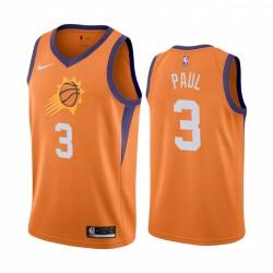 Chris Paul Phoenix Suns 2020-21 Orange Erklärung Ausgabe Trikot 2020 Handel