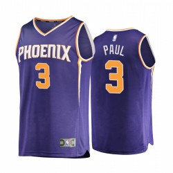 Phoenix Sonnen & 3 Chris Paul Trikot 2020-21 Replik-Symbol Lila 2020 Handel