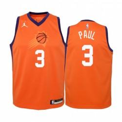 Chris Paul Phoenix Sonnen Jugend Orange Erklärung Trikot 2020 Handel