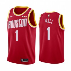 John Wall Houston Rockets 2020-21 Rot Classic Trikot 2020 Trade