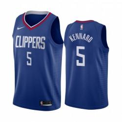 Nicolas Batum Los Angeles Clippers Blue Icon Edition Trikot