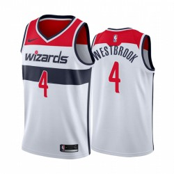 Russell Westbrook Washington Wizards 2020-21 WEIß Association Trikot 2020 Handel