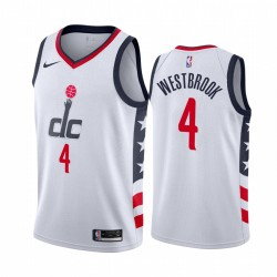 Russell Westbrook Washington Wizards 2020-21 WEIß City Trikot 2020 Handel