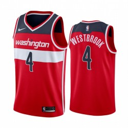 Russell Westbrook Washington-Zauberer 2020-21 Rotes Symbol Trikot 2020 Handel