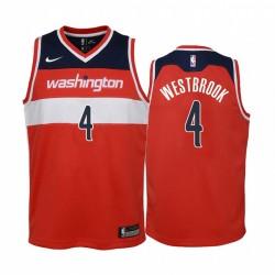 Washington-Zauberer Russell Westbrook 2020-21 Symbol Rot Jugend Trikot - 2020 Handel
