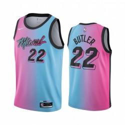 Jimmy Butler Miami Heat Blue Pick City Edition Vize 2020-21 Trikot