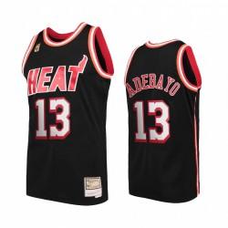 Miami Heat Bam Adebayo & 13 Schwarz Hardwood Classics Trikot