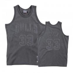 Männliche Chicago Bulls Scottie Pippen # 33 graue Trikot