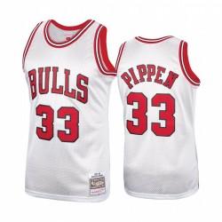 Chicago Bulls # 33 Scottie Pippen Platinum Hardwood Classics Herren Trikot