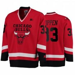 Bullen Scottie Pippen & 33 Hockey G-III Sport Trikot