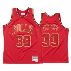 Chicago Bulls Scottie Pippen 2020 CNY ROT TROPBACK Trikot