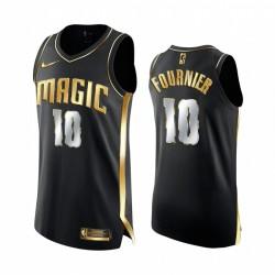 Evan Fournier Orlando Magic 2020-21 Schwarz Golden Edition Trikot Authentic Limited