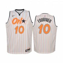 Evan Fournier Orlando Magic 2020-21 Stadtausgabe Jugend Trikot - Weiß