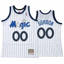 Aaron Gordon & 00 Orlando Magic Weiß Hardwood Classics Trikot