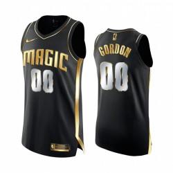 Aaron Gordon Orlando Magic 2020-21 Schwarz Golden Edition Trikot Authentic Limited