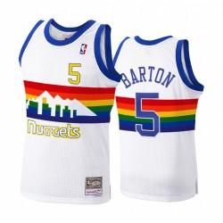 Denver Nuggets Will Barton & 5 Hardwood Classics 1991-92 Trikot Herren