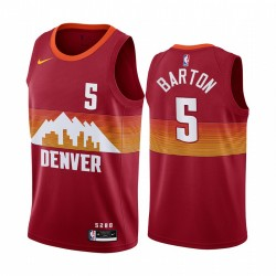 Will Barton Denver Nuggets 2020-21 Orange City Edition Trikot Neue Uniform