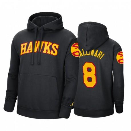Danilo Gallinari Atlanta Hawks 2020-21 Erklärung Hoodie Schwarz