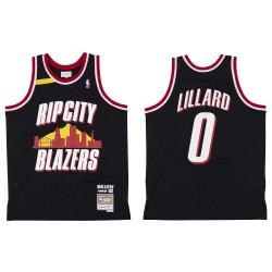 Portland Trail Blazer Br, Remix Rip City Damian Lillard & 0 Schwarz Trikot