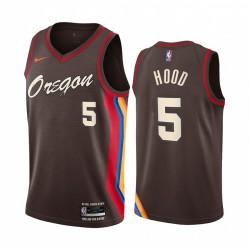 Rodney Hood Portland Trail Blazer 2020-21 Chocolate City Edition Trikot Oregon