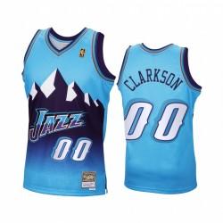Jordan Clarkson Utah Jazz Blue Trikot 2020 Reload Classic