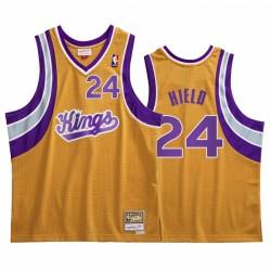 Buddy Hield & 24 Sacramento Kings Gold Hardwood Classics Trikot