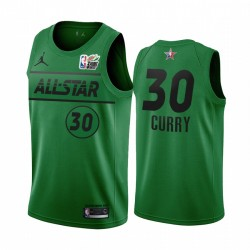 Stephen Curry MTN Dew 3-Punkt 2021 All-Star Western Green Warriors Trikot
