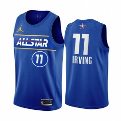 2021 All-Star Kyrie Irving Trikot Blue Eastern Conference Nets Uniform