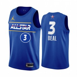 2021 All-Star Bradley Bradr Trikot Blue Eastern Conference Assistards Uniform