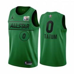 Jayson Tatum Mtn Dew 3-Punkt 2021 All-Star-östliche grüne Celtics Trikot