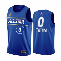 2021 All-Star Jayson Tatum Trikot Blue Eastern Conference Celtics Uniform