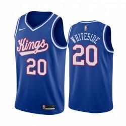 Hassan Weißside Sacramento Kings 2020-21 Blue Classic Trikot 2020 Trade