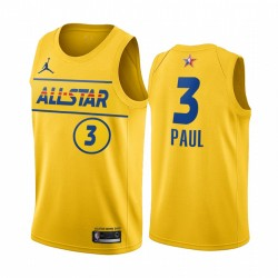 2021 All-Star & 3 Chris Paul Gold Western Conference Trikot Sonnen