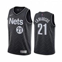 Lamarcus Aldridge Brooklyn Nets & 21 Schwarz Erträge Trikot 2021 Handel