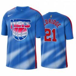 Lamarcus Aldridge Brooklyn Nets Classic Edition 2021 Trade Blue T-Shirt