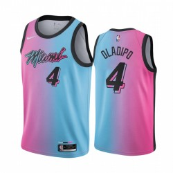Victor Oladipo Miami Heat Blue Pink City Edition 2021 Handel Trikot