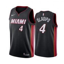 Victor Oladipo Miami Heat Schwarz Erklärung Ausgabe 2021 Handel Trikot