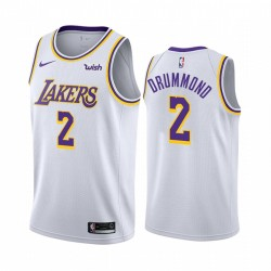 Andre Drummond Los Angeles Lakers & 2 WEIß Association Edition Trikot