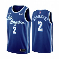 Andre Drummond Los Angeles Lakers & 2 Blue Classic Edition Trikot
