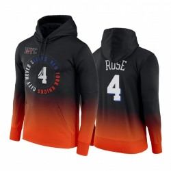Derrick Rose New York Knicks City Edition Hoodie Schwarz