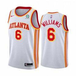 Lou Williams Atlanta Hawks 2021 Association Edition Weiß & 6 Trikot Swingman