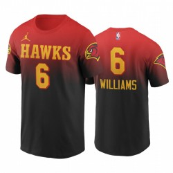 Lou Williams Hawks & 6 Classic Edition Rot T-Shirt Gradient