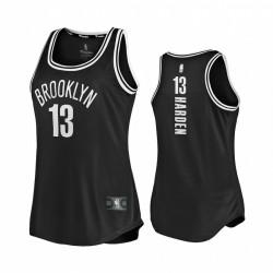 James Harden Brooklyn Nets & 13 Schwarz Replica Damen 2020-21 Trikot-Symbol Edition