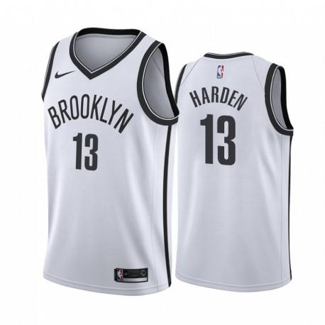 James Harden Brooklyn Nets 2020-21 WEIß Association Trikot 2020 Trade