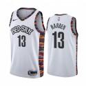 James Harden Brooklyn Nets 2020-21 WEIß City Trikot 2020 Trade