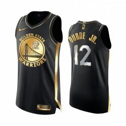 Kelly Oubre Jr. Goldene State Warriors Schwarz Authentic Golden Limited Edition Trikot