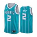 Lamelo-Kugel 2020 NBA Entwurf Charlotte Hornete Hornete Talke Icon Trikot