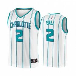 Lamelo Ball Charlotte Hornets Weiß Association 2020 NBA Draft 2020-21 Trikot
