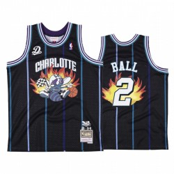 Charlotte Hornets Br Remix Dreamville Lamelo Ball & 2 Schwarz Trikot