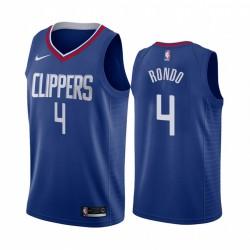 Rajon Rondo Los Angeles Clippers Blue Icon Edition 2021 Handel Trikot